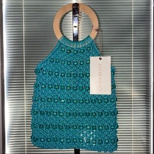 Antik Kraft Crochet Hobo Bohemian Crossbody Bag